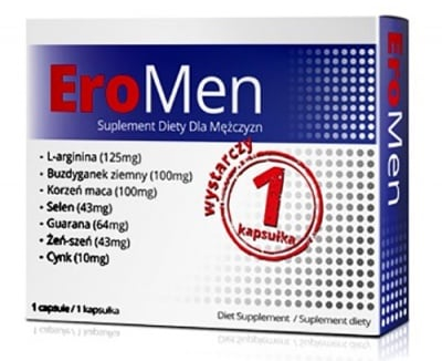 Ero men extra 1 capsule / Еро мен екстра 1 капсула