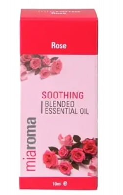 Rose essential oil 10 ml. MIAROMA / Етерично масло Роза 10 мл. MIAROMA