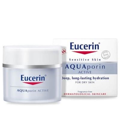 Eucerin Aquaporin Active Rich Day cream 50 ml. / Еуцерин Аквапорин Актив Дневен крем за суха кожа 50 мл.
