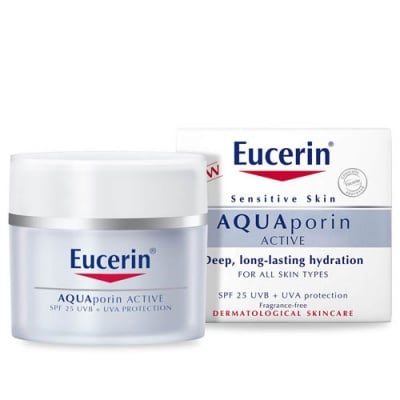 Eucerin Aquaporin Active Day cream SPF 25 50 ml. / Еуцерин Аквапорин Актив Дневен крем за нормална кожа SPF 25 50 мл.