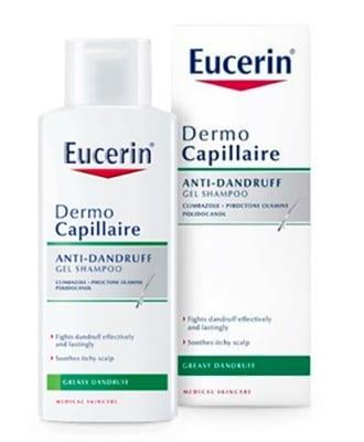 Eucerin DermoCapillaire Anti-dandruff gel shampoo for greasy dandruff 250 ml. / Еуцерин Дермокапилер Шампоан против мазен пърхот 250 мл.