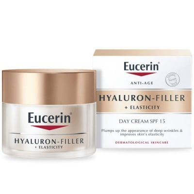 Eucerin Hyaluron Filler + Elasticity Day cream 50 ml. / Еуцерин Хиалурон Филър + Еластисити Дневен крем за еластична кожа 50 мл.