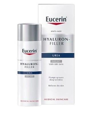 Eucerin Hyaluron Filler + 5% UREA Night cream 50 ml. / Еуцерин Хиалурон Филър + 5% УРЕА Нощен крем 50 мл.