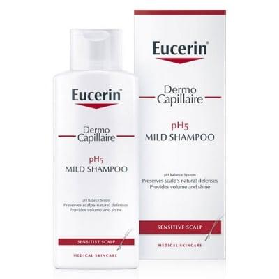 Eucerin DermoCapillaire pH5 Mild Shampoo 250 ml. / Еуцерин Дермокапилер Шампоан за чувствителен скалп 250 мл.