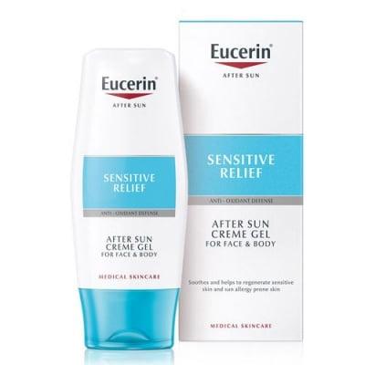 Eucerin After Sun Cream - gel for sun allergy prone skin 150 ml / Еуцерин Крем - гел за след слънце за чувствителна кожа и кожа, предразположена към слънчеви алергии 150 мл.