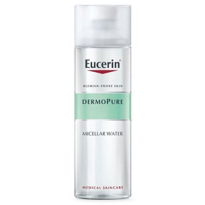 Eucerin DermoPure Micellar water 400 ml / Еуцерин Дермопюр Мицеларна вода за мазна и склонна към акне кожа 400 мл.