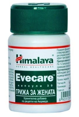 Evecare 30 capsules Himalaya / Ивкеър грижа за жената 30 капсули Хималая