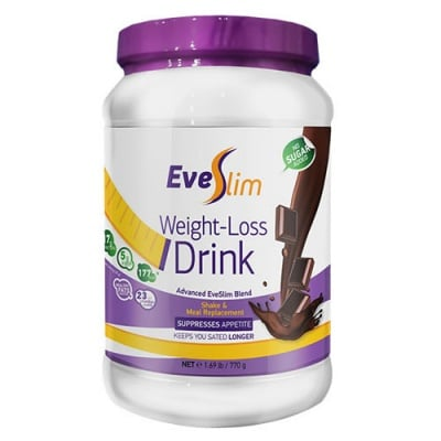 Eve Slim Weight Loss Drink with chocolate flavour 770 g / Еве Слим Уейт Лос дринк с вкус на шоколад 770 гр.