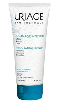 Uriage GOMMAGE INTEGRAL Exfoliating scrub for face and body 200 ml / Уриаж GOMMAGE INTEGRAL Ексфолиращ гел за лице и тяло 200 мл.