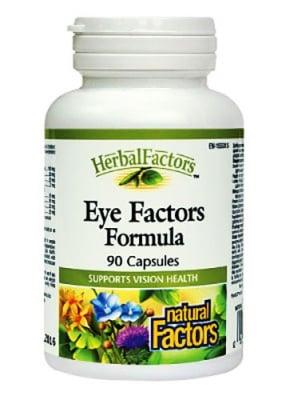 Eye factors formula 260 mg 90 capsules Natural Factors / Факторс формула за очи 260 мг. 90 капсули Натурал Факторс