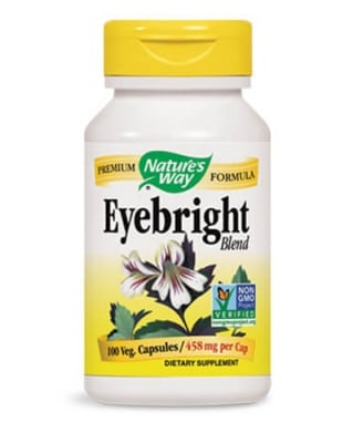 Eyebright 458 mg 100 capsules Nature's Way / Очанка смес 458 мг. 100 капсули Nature's Way