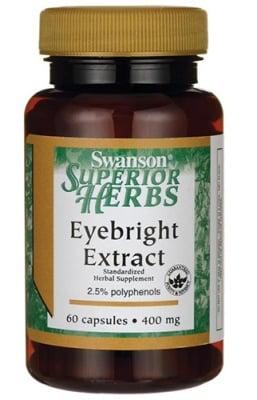 Swanson Eyebright extract 400 mg 60 capsules / Суонсън Очанка 400 мг. 60 капсули