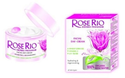 Rose Rio facial day cream 50 ml. / Роуз Рио Хидратиращ дневен крем за лице 50 мл.