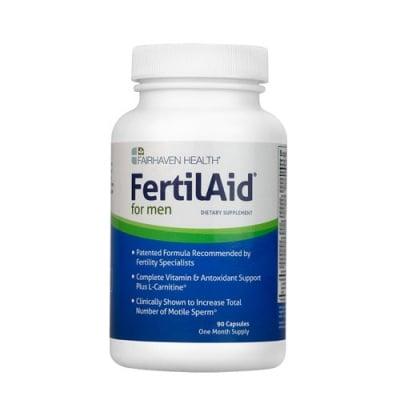 FertilAid for men 90 capsules Fairhaven Health / Фертилейд за мъже 90 капсули Fairhaven Health
