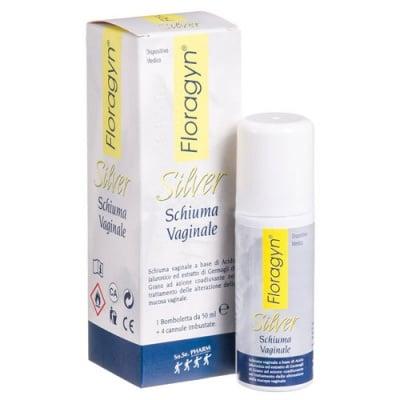 Floragyn Silver vaginale spray 50 ml / Флоражин Силвър спрей 50 мл.