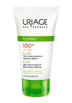 Uriage HYSEAC Very high protection sun care for combination to oily skin SPF50+ 50 ml / Уриаж HYSEAC Защитен крем за мазна кожа SPF50+ 50 мл.