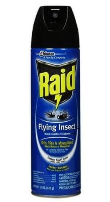 Raid aerosol flying insects blue / Райд аерозол за летящи насекоми син