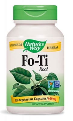 Fo - Ti 610 mg 100 capsules Nature's Way / Фо - Ти 610 мг. 100 капсули Nature's Way