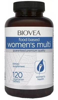 Biovea Women`s multi FOOD 120 tablets / Биовеа Мултивитамини за жени FOOD 120 таблетки