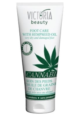 Victoria Beauty Cannabis foot care 100 ml. / Виктория Бюти Канабис крем за крака 100 мл.