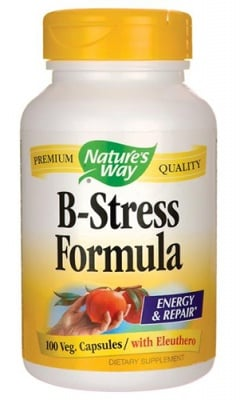 B-stress formula 100 capsules Nature's Way / Би-стрес формула 100 капсули Nature's Way