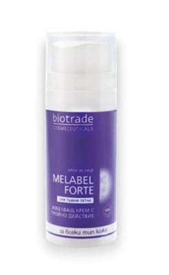 Melabel Forte whitening cream triple action 30 ml / Мелабел Форте избелващ крем с тройно действие 30 мл.