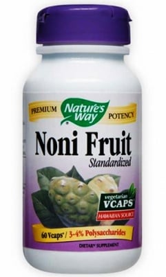 Noni fruit 500 mg. 60 capsules Nature's Way / Нони плод 500 мг. 60 капсули Nature's Way