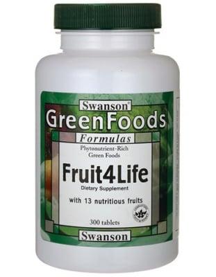 Swanson fruit 4 life 300 tablets / Суонсън Плодове за живот 300 таблетки