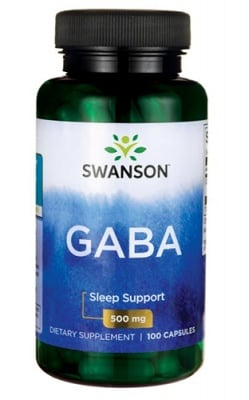 Swanson GABA 500 mg 100 capsules / Суонсън Габа 500 мг. 100 капсули