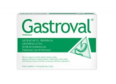 Gastroval 15 capsules / Гастровал 15 капсули