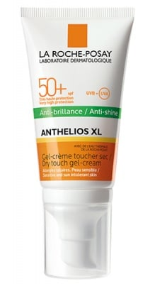 La Roche ANTHELIOS XL SPF 50+ anti-shine non-perfumed dry touch face gel-cream 50 ml. / Ла Рош АНТЕЛИОС XL SPF 50+ слънцезащитен матиращ гел-крем драй тъч без парфюм за лице 50 мл.