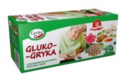 Gryka Tea Gluco 60 filter bags / Чай Грика Глюко филтър 60 броя