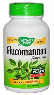 Glucomannan 665 mg 100 capsules Nature's Way / Глюкоманан 665 мг. 100 капсули Nature's Way
