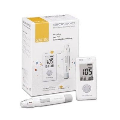 Blood glucose apparatus Bionime Rightest GM100 / Апарат за измерване на кръвна захар Бионейм GM100