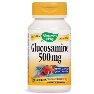 Glucosamine Hydrochloride (HCL) 500 mg. 90 capsules Nature's Way / Глюкозамин Хидрохлорид 500 мг. 90 капсули Nature's Way