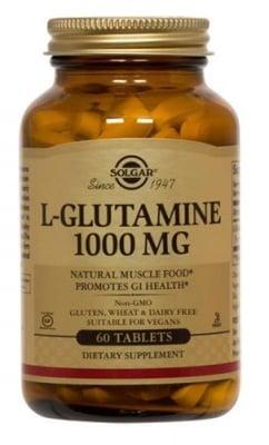 L - Glutamine 1000 mg 60 tablets Solgar / L - Глутамин 1000 мг. 60 таблетки Солгар