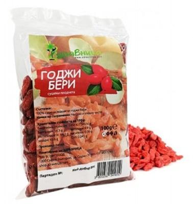 Goji berry dry fruits 100 g Zdravnitza / Годжи бери сушени плодове 100 гр. Здравница