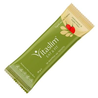 Vitaslim Eat and fit with Goji Berry 25 g / Витаслим Био барче Витаслим Ийт енд Фит с Годжи бери 25 гр.
