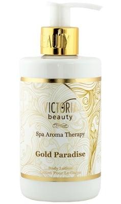 Victoria Beauty Spa aroma therapy body lotion Gold Paradise 250 ml. / Виктория Бюти Спа арома терапи Лосион за тяло Голд Парадайс 250 мл.