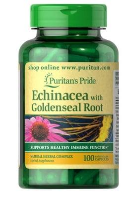 Puritan`s pride Echinacea 450 mg 100 capsules / Пуританс Прайд Ехинацея 450 мг. 100 капсули