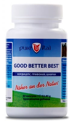 Purevital Good Better Best 60 capsules / Пюрвитал Good Better Best 60 капсули