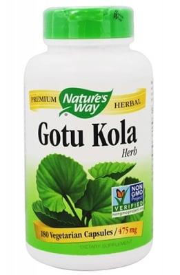 Gotu Kola 475 mg 180 capsules Nature's Way / Готу Кола 475 мг. 180 капсули Nature's Way