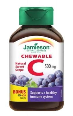 Jamieson Vitamin C + grape 500