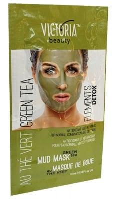 Victoria Beauty antioxidant and repairing face mask with green tea 10 ml. / Виктория Бюти Измиваща маска за лице със зелен чай 10 мл.