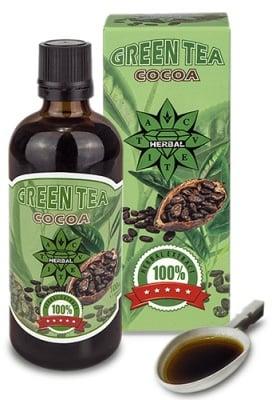 Green tea + Cocoa extract 100 ml. Cvetita / Зелен чай + Какао екстракт 100 мл. Цветита