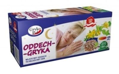 Gryka Tea Deep sleep 60 filter bags / Чай Грика Дълбок сън филтър 60 броя