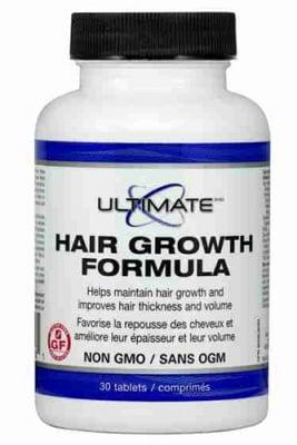 Ultimate Hair growth formula 148 mg 30 tablets Natural Factors / Ултимат Хеър гроу формула за мъже 148 мг. 30 таблетки Натурал Факторс