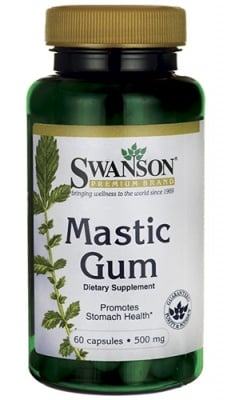 Swanson Mastic gum 500 mg 60 capsules / Суонсън Дъвка мастик 500 мг. 60 капсули