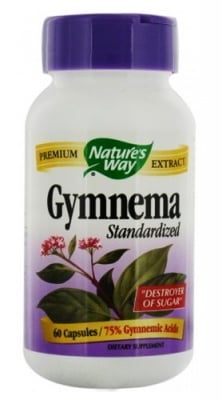 Gymnema 310 mg 60 capsules Nature's Way / Гимнема 310 мг. 60 капсули Nature's Way