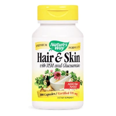Hair and skin 100 capsules Nature's Way / Коса и кожа 100 капсули Nature's Way